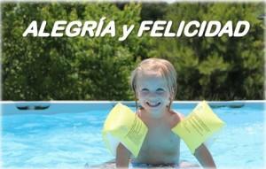 piscina felicidad