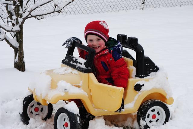 Conducir con nieve - Sal Roca Sal para hielo y nieve