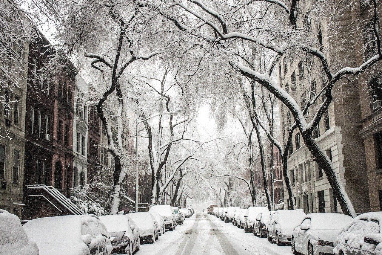 Grandes provisiones de Sal para las nevadas de invierno